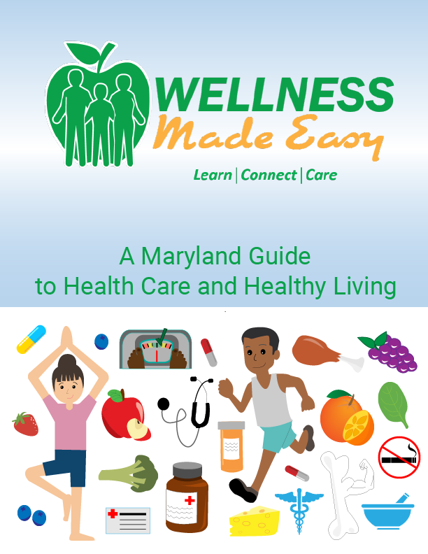 Wellness made easy Logo and graphic